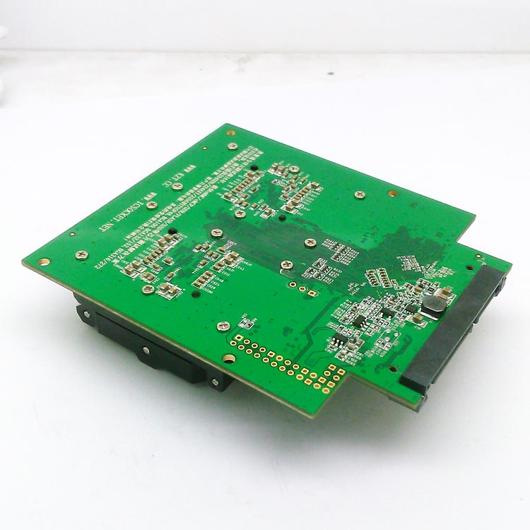 BGA316 TSOP48 to DIP48 clamshell test fixture with SM2256K main controller for test SSD chips and open Card