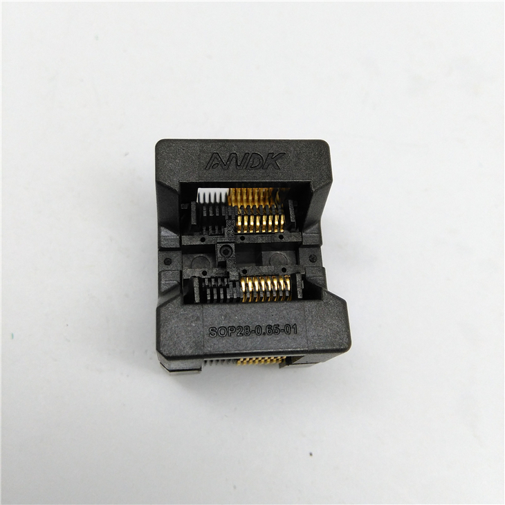SOP16 SOIC16 SO16 Burn in Socket Pitch 1.27mm 300mil IC Body Width 7.5mm Test Socket Adapter
