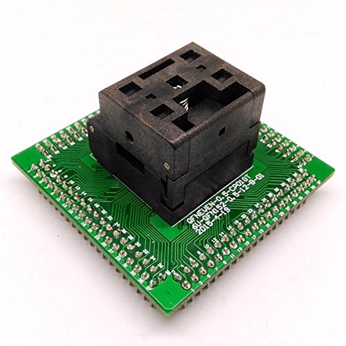QFN16 MLF16 Burn in IC Test Socket ICNP506-016-033-G Pitch 0.4mm Chip Size 3*3 Flash Adapter Clamshell Programming Socket
