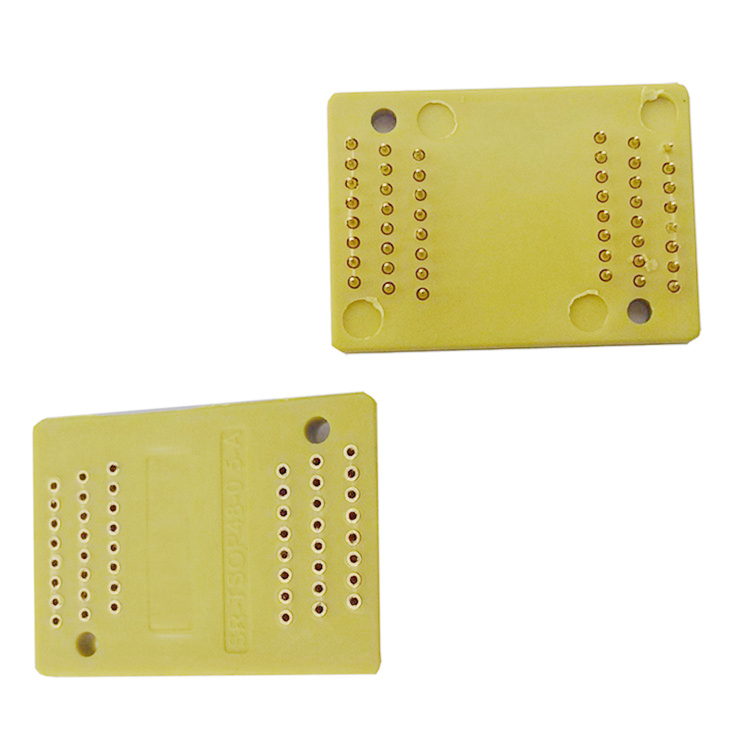 Pin Board TSOP48-0.5 Interposer Board Receptacle Pin Adapter Plate Burn in Socket Test Socket Plug pin