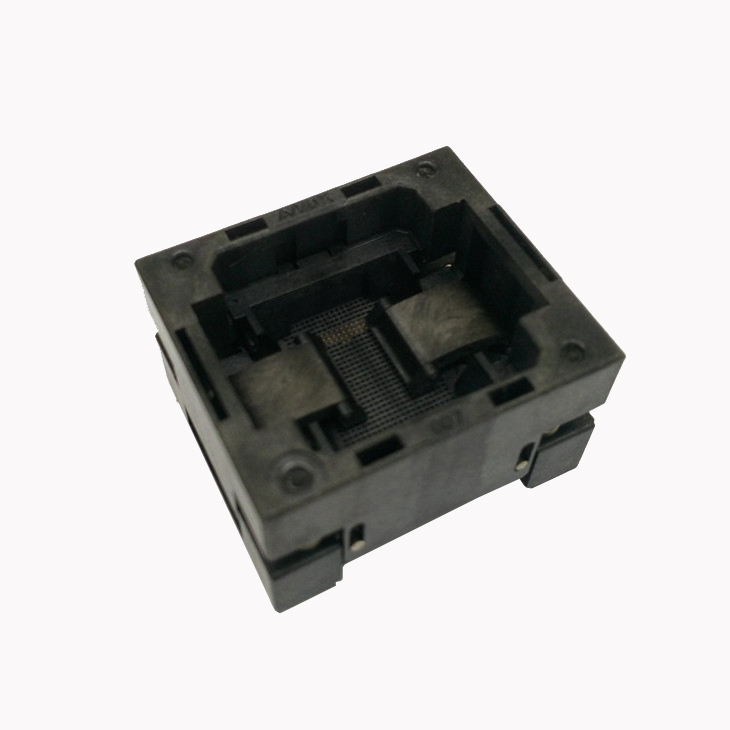 eMCP221 TOP-OPEN down press socket adapter without PCB board flash memory data recovery burn-in test programming code