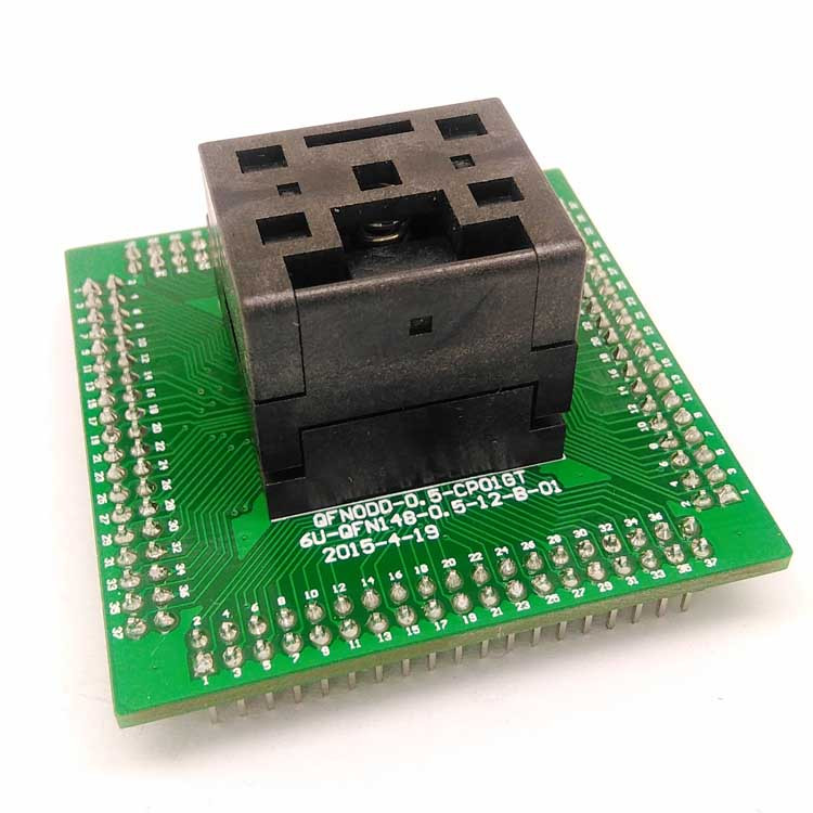 QFN36 MLF36 WLCSP36 Programming Socket Adapter Pin Pitch 0.4mm IC Body Size 5*5mm Test Socket QFN36(5x5)-0.4 programming socket
