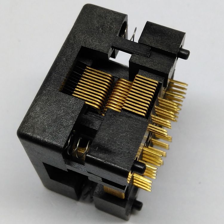 QFP48 TQFP48 LQFP48 Open top Pitch 0.5mm Programmer Socket FPQ-48-0.5-06 Test Flash Adapter Conversion Block