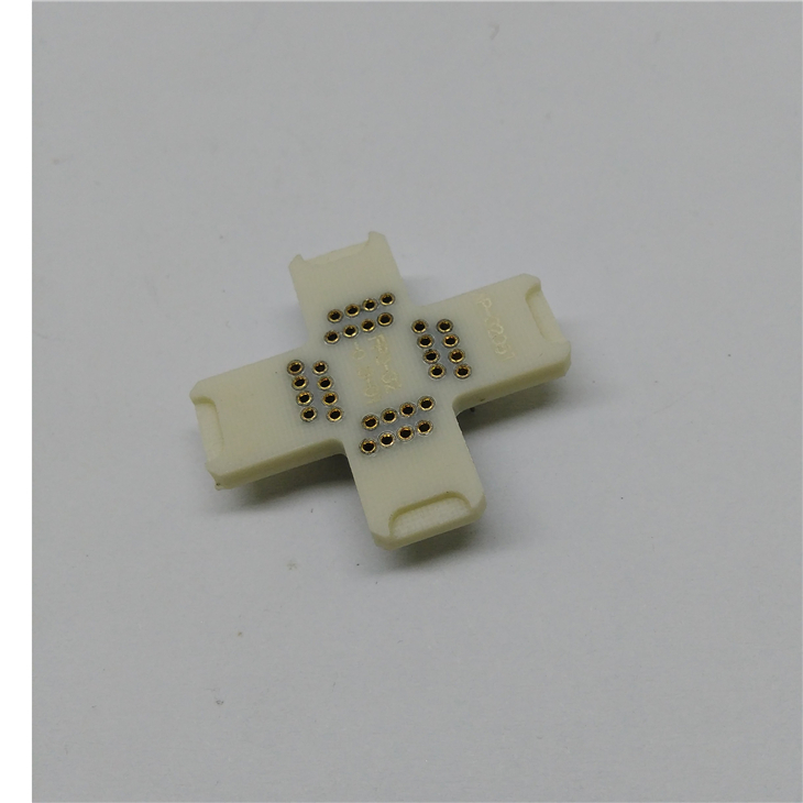 QFP32-0.5 White receptacle pin board STM32 OTQ-32-0.5-01 adapter board pinboard Longer usage lifetime than Stable Quality