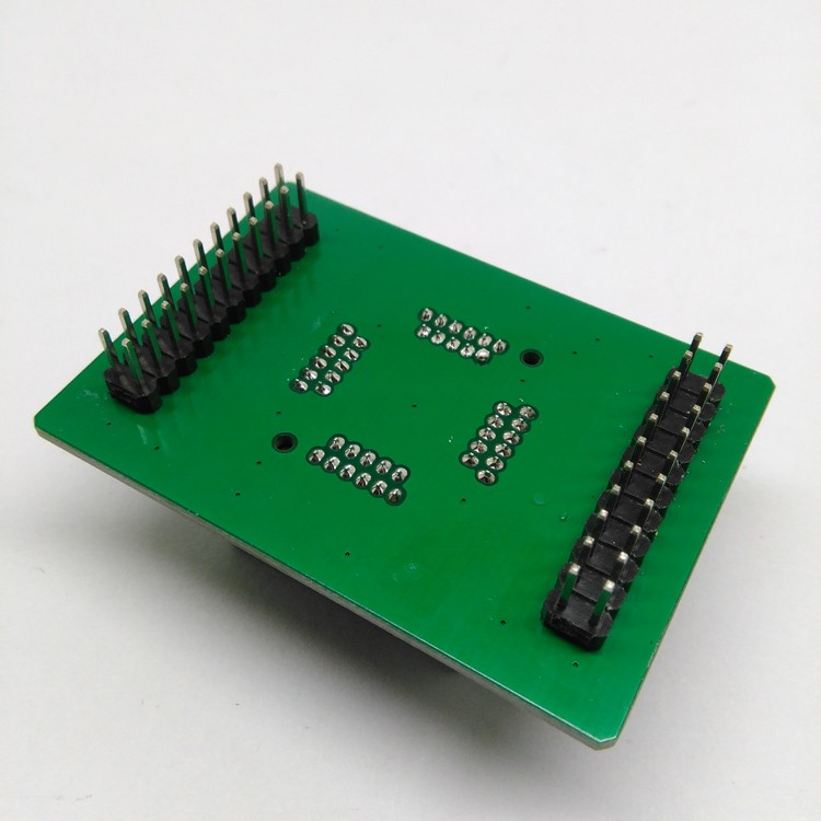TQFP44 FQFP44 QFP44 to DIP44 Programming Socket OTQ-44-0.8-14 Pitch 0.8mm IC Body Size 10x10mm Test Adapter​