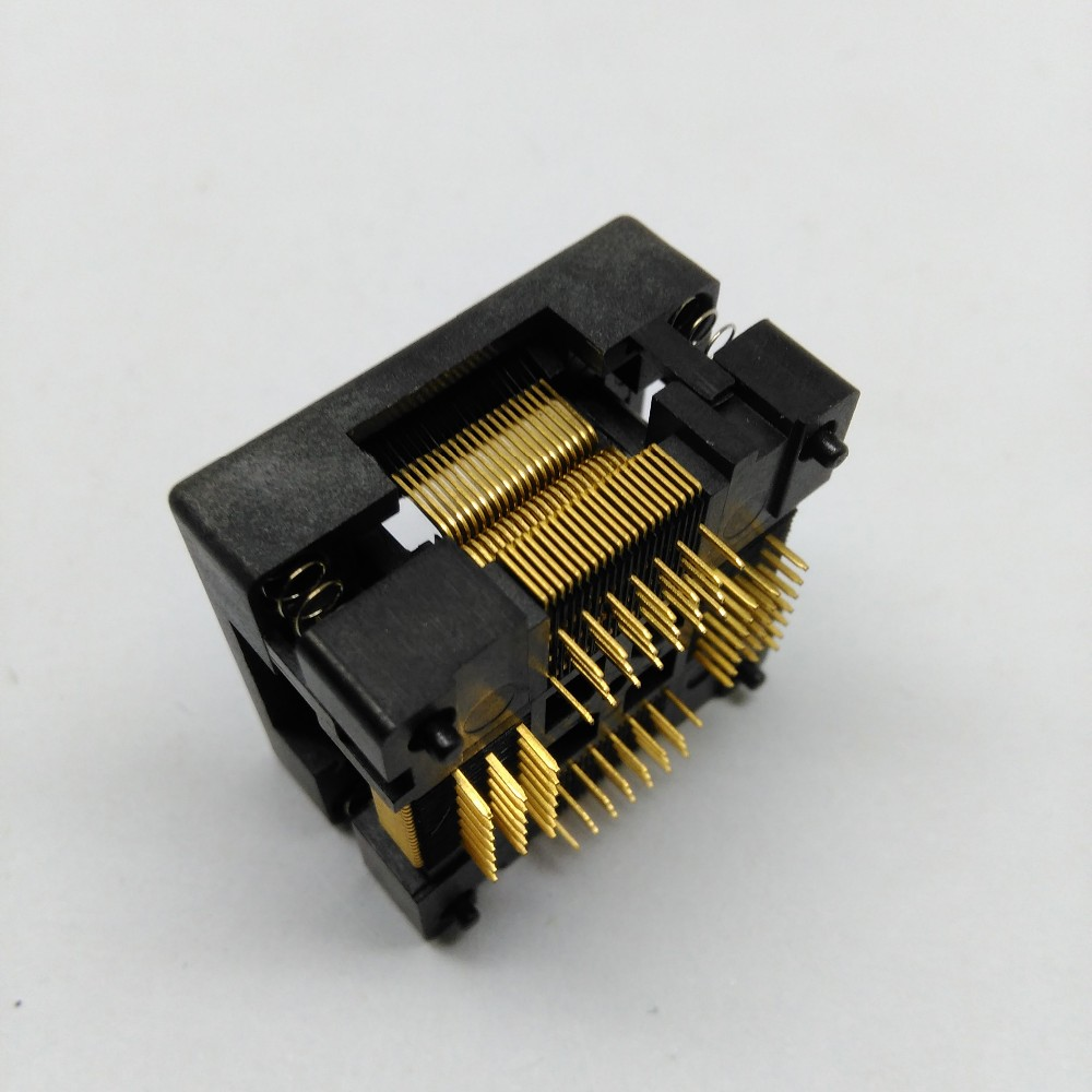 TQFP80 FQFP80 QFP80 Burn in Socket OTQ-80-0.5-02B Pitch 0.5mm IC Body Size 12x12mm Test Adapter