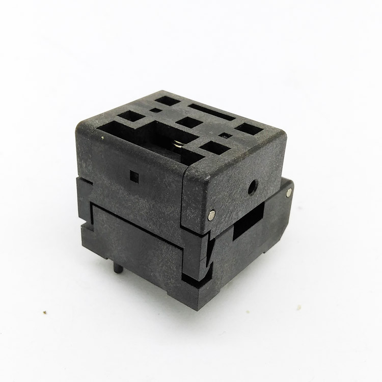 QFN24 MLF24 WLCSP24 Burn in Socket Pin Pitch 0.4mm IC Body Size 4x4mm IC549-0244-016-G Flash Test Socket Adapter