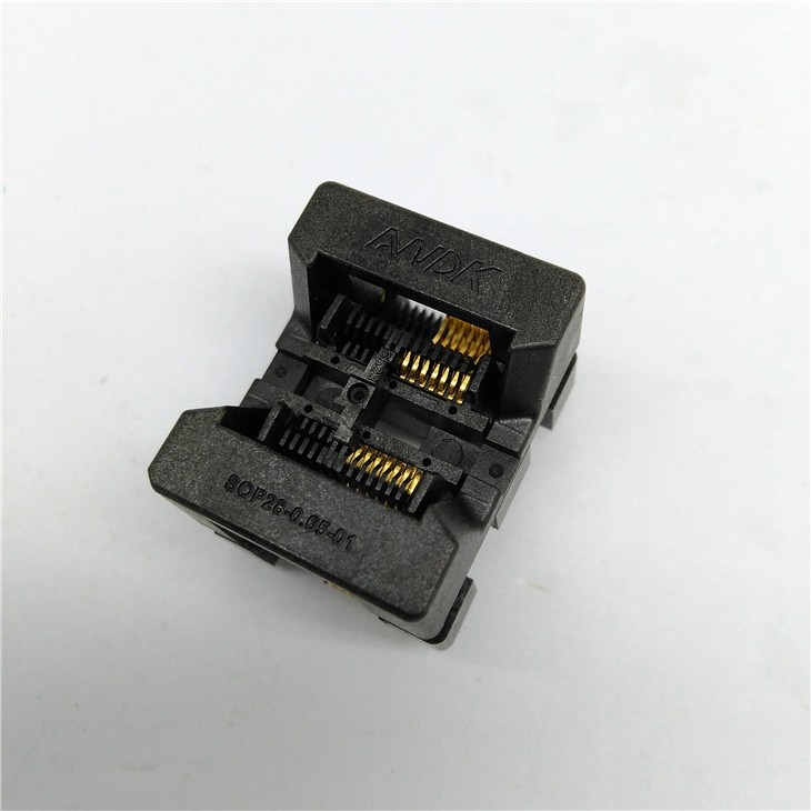 SSOP14 TSSOP14 Burn in Socket Pitch 0.65mm IC Body Width 4.4mm 173mil Flash Test Socket Adapter