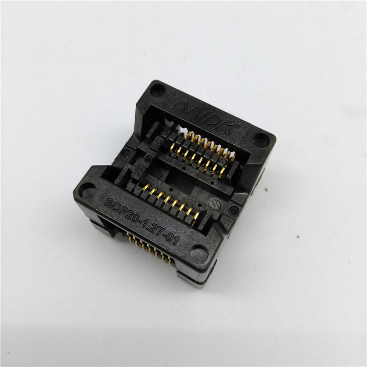 SOP16 Burn in Socket 209mil IC Test Socket OTS-20-1.27-01 Programing Socket Programmer Adapter Connector Wholesale