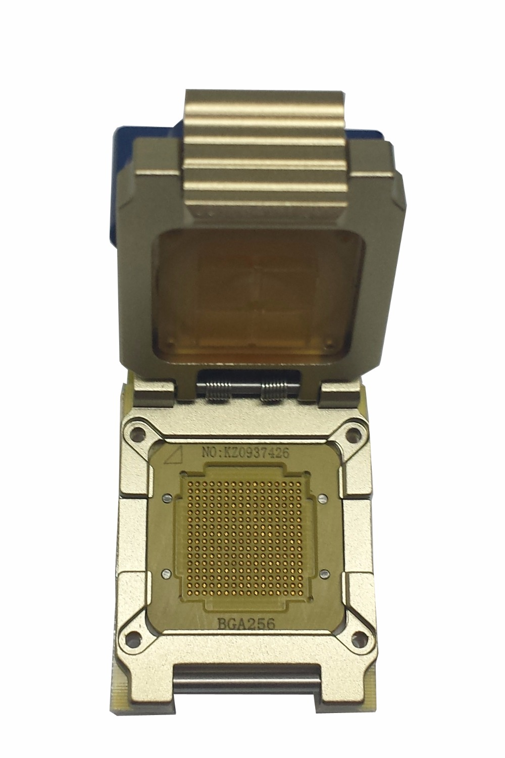 Analysis BGA256 high stable socket for IC design R&D test in Lab,research center and UFS series test