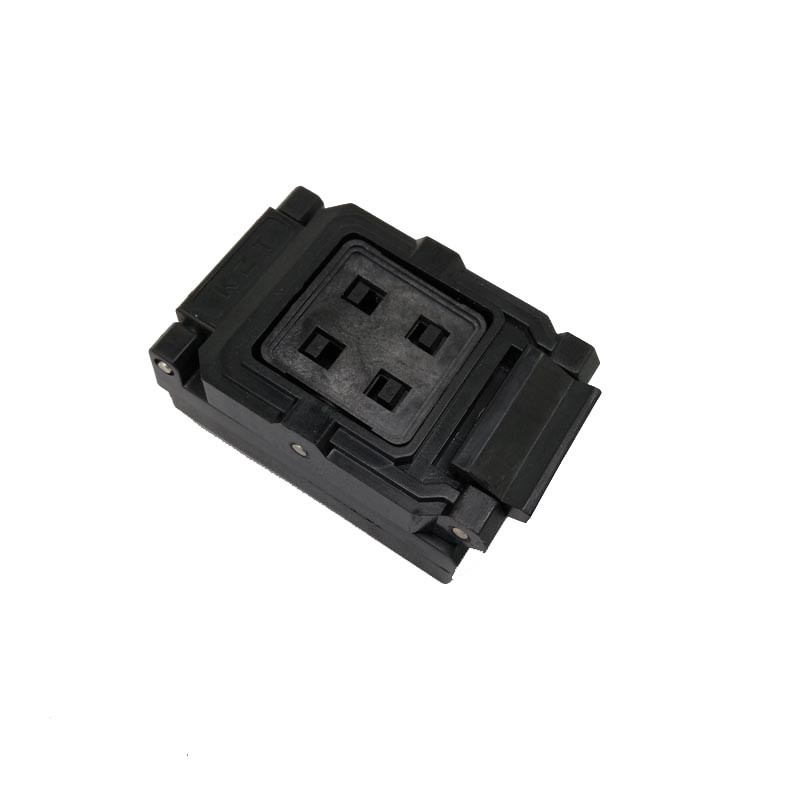 VFBGA63 BGA63 Burn in Socket Test Socket Pin Pitch 0.8mm IC Body Size 10.5x13.5mm Programmer Adapter Burning Socket