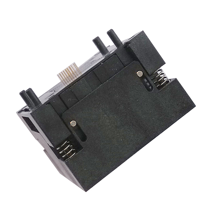 EMMC153/169 socket adapter OPEN-TOP smart digital device GPS device flash memory data recovery burn-in test programming code 007-eMMC-0.5-153-10x11-B-02