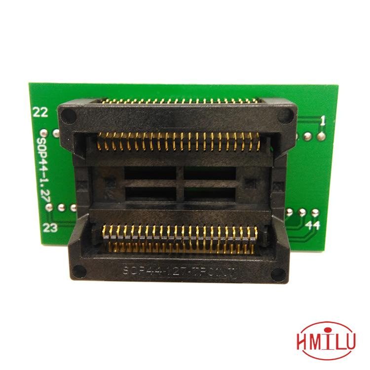 PSOP44 SOP44 SOP44(44)-1.27 programming socket SOP44 Test Socket OTS-44-1.27-04 Programmer Adapter for RT809H programmer